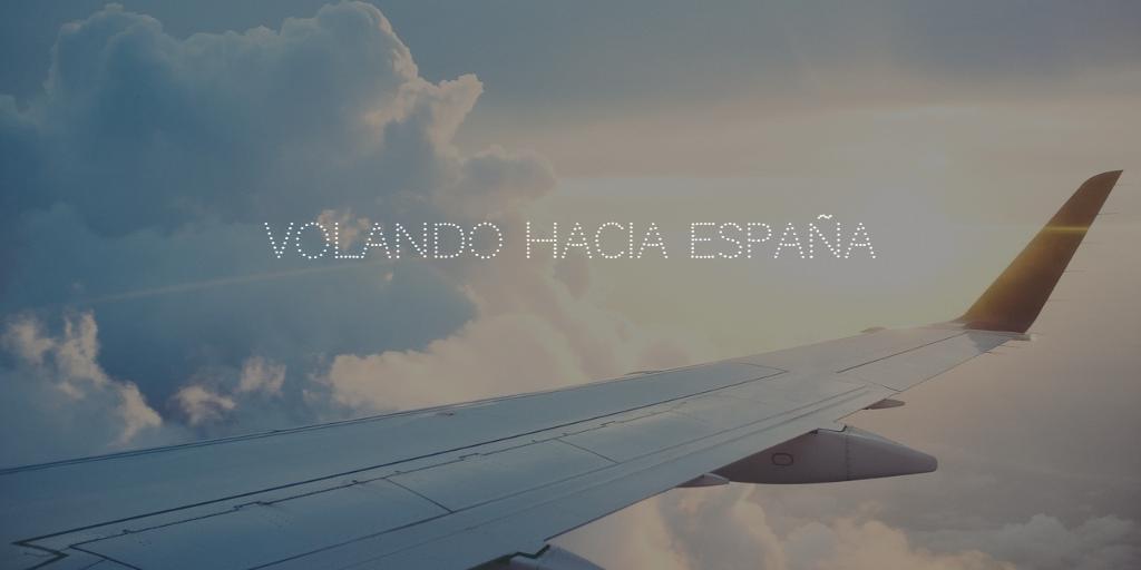 Volamos hacia España!