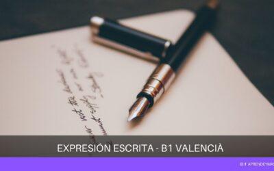 Valencià B1: 10 consejos para aprobar el examen